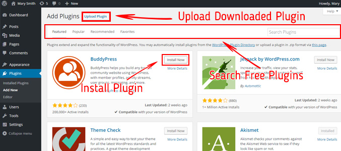 install-new-plugin-ultimate-blog-start-guide