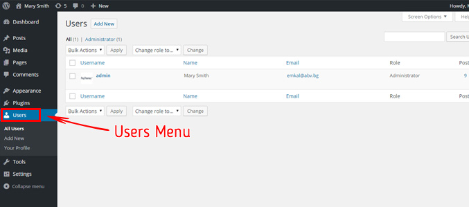 users-menu-starting-blog