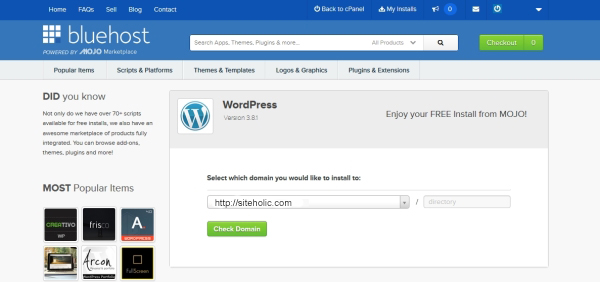 wordpress-installation-for-online-shop